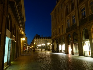 Rennes at night